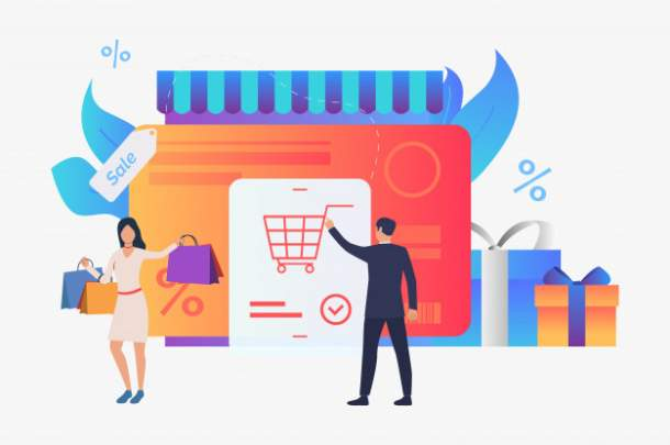 Online store concpet